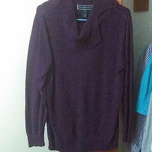 Medium purple sweater